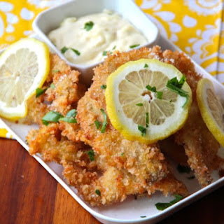 Panko Fried Razor Clams