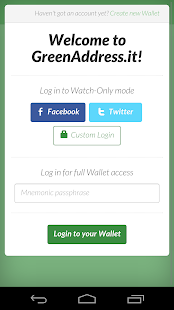 GreenAddress Bitcoin Wallet- screenshot thumbnail