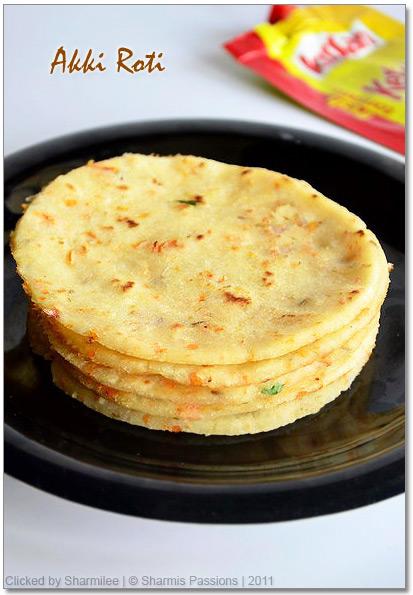 Instant Akki Roti Recipe