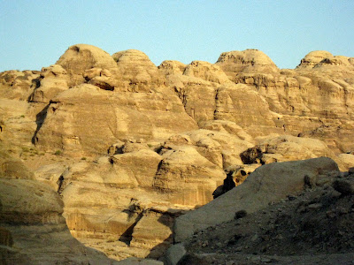 Dawn in Wadi Musa