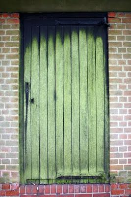 绿色的门花园郊区在汉普斯特德