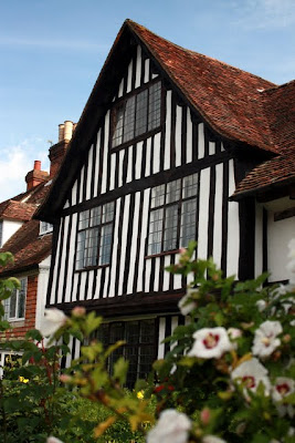 Tudor style house in Cranbrook Kent in England