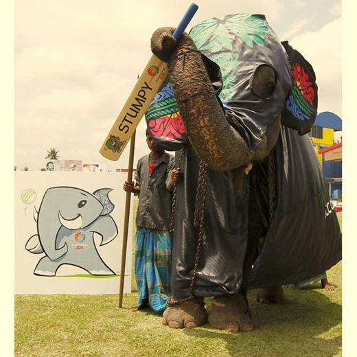 2011 ICC Cricket World Cup Mascot - Stumpy, the Elephant