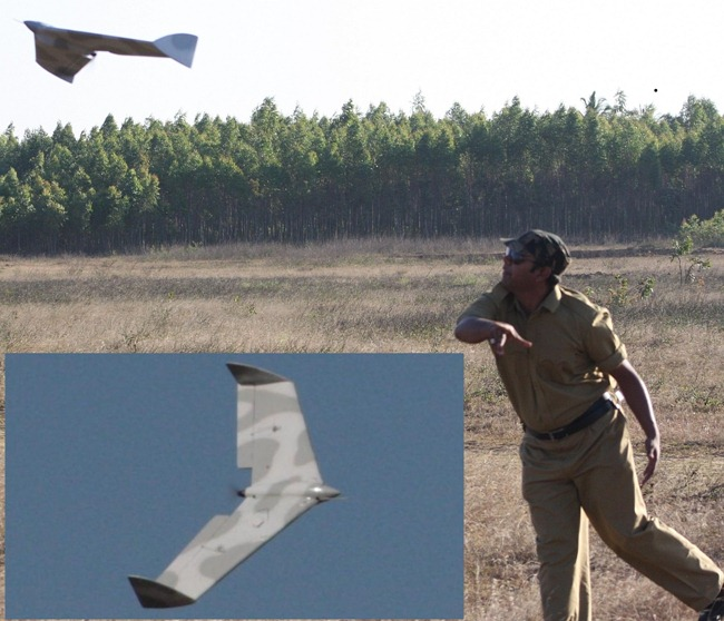 Sky Dot Unmanned Aerial Vehicle [UAV] by Aurora Integrated Systems [AIS], Bangalore, India