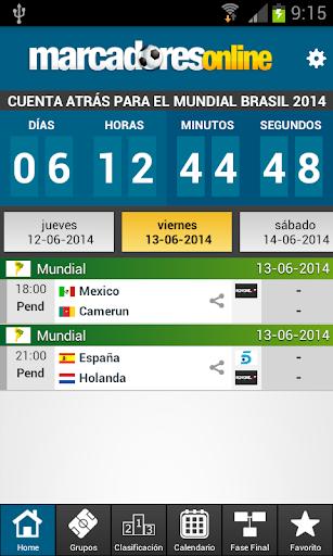 Mundial Brasil 2014 Resultados