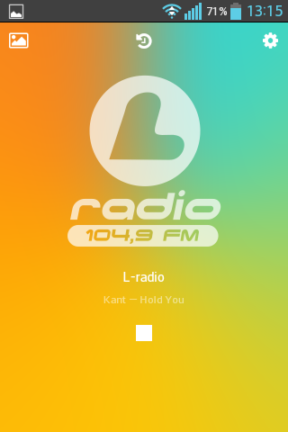 L-radio- screenshot