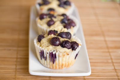 close-up photo of a muffin on a plate