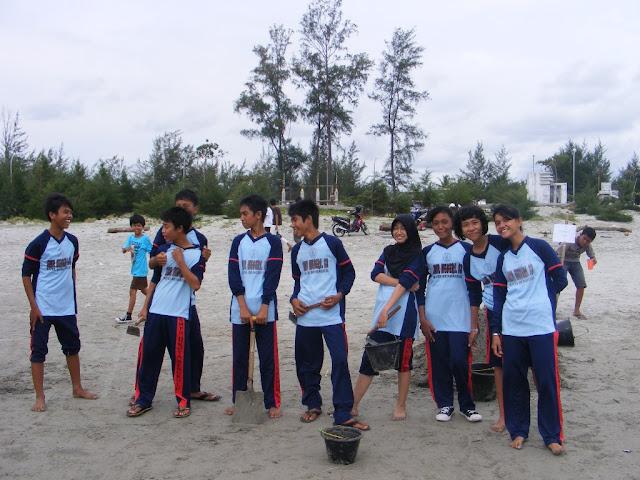 Lomba Patung Pasir Smpn 13 Kota Bengkulu