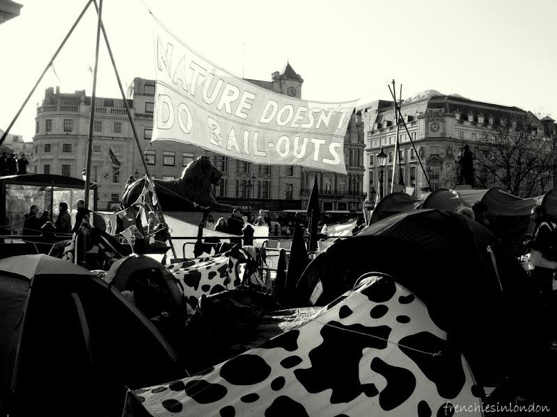 Londres insolite et éphémère : de Leake street à Trafalgar Square 2
