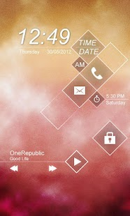 Mist GO Locker Theme - screenshot thumbnail
