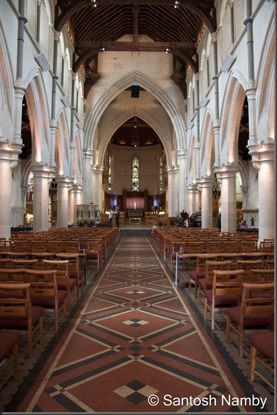 Central Aisle of Christ Church Cathedral