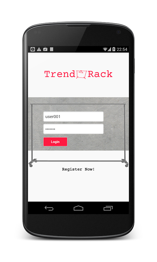 TrendRack- screenshot
