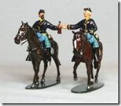 Two cavalry soldiers