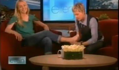 Portia de Rossi The Ellen DeGeneres Show Interview picture
