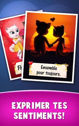 Lettres d'amour de Talking Tom  captures d'u00e9cran 11