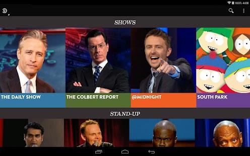 Comedy Central Screenshot 24