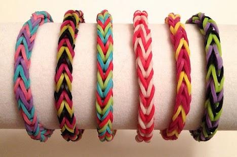 Fishtail Rainbow Loom Bracelet- screenshot thumbnail