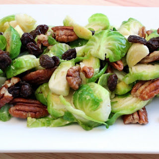 Brussel Sprout Salad with Dijon Mustard Dressing