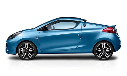 Company Renault has presented a compact roadster