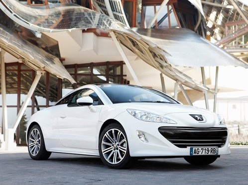 Peugeot begins the European sales of sport coupe RCZ