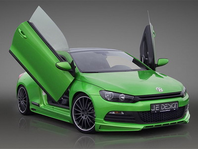 Volkswagen Scirocco from JE Design: all force in colour