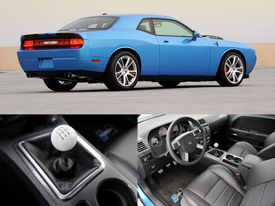 Dodge Challenger has received from firm Hurst a small gift