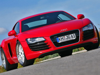 Studio MFK Autosports has improved Audi R8