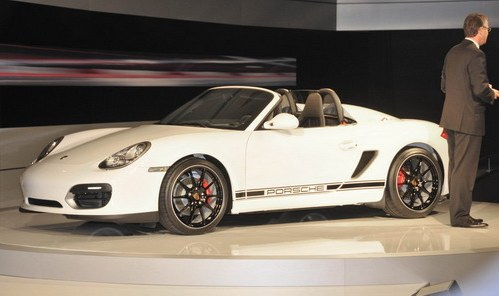 Porsche has officially presented Boxter Spyder