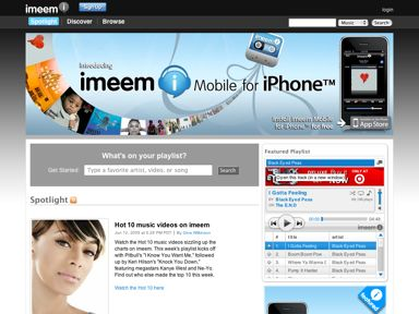 MySpace has got Imeem.com