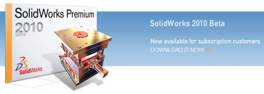 SolidWorks 2010 Download Beta