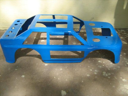 Finished Car Body