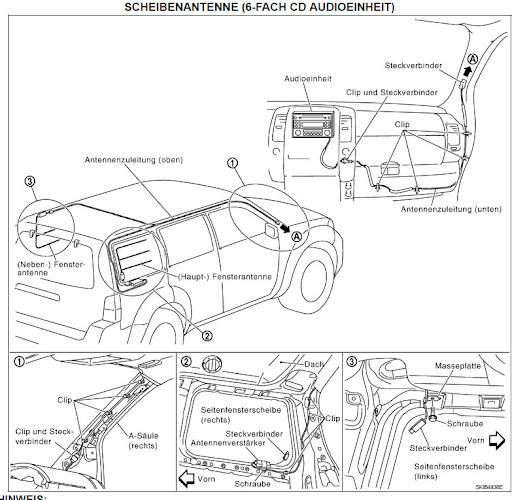 Nissan micra k11 schaltplan