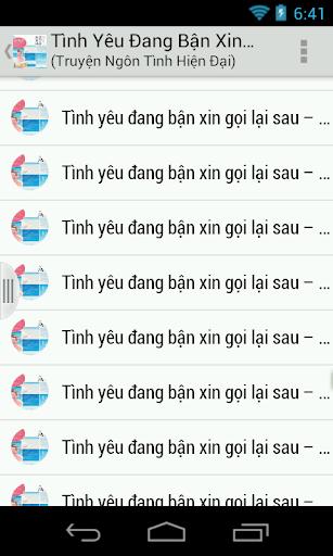 Tinh Yeu Dang Ban Xin Goi Lai