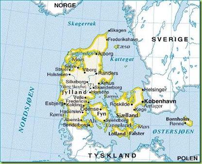 kart av danmark landskandinavia   Norge og Danmark kart av danmark