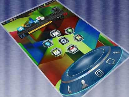 AlloyHD Next Launcher 3D Theme - screenshot thumbnail