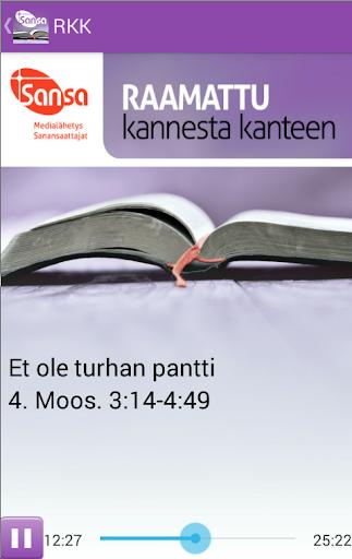 Raamattu Kannesta Kanteen