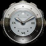 Dragon Clock Widget white 2.70 (Paid)