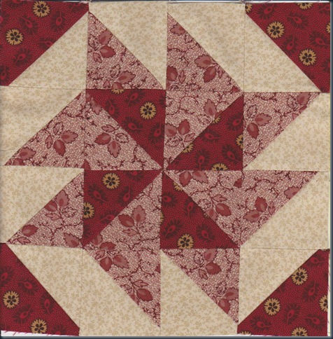 Barbara Brackman Civil War Block 1
