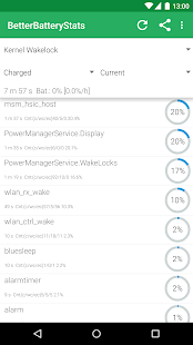 BetterBatteryStats Screenshot