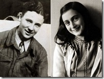 Peter van Pels and Anne Frank