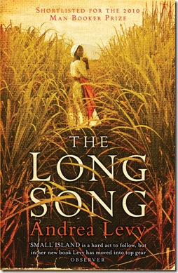 The Long Song - Andrea Levy - cover