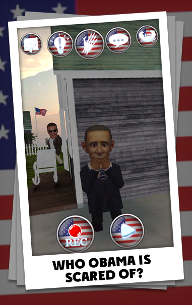 Talking Obama 2 - screenshot
