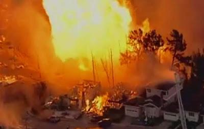 事故 ロサンゼルス 爆発