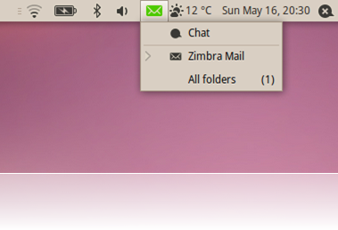 Add Zimbra support to the Ubuntu messaging menu with