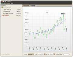 wxbanker desktop app makes keeping track of your money simple
