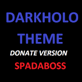 CM10/11 DarkHolo Theme DONATE