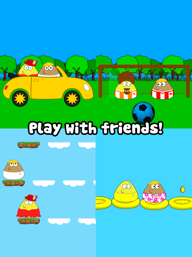 Screenshots of Pou for Android
