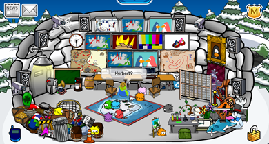 Saraapril's Spy Cave Igloo :)