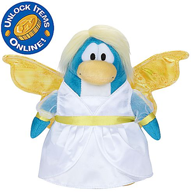 Snow Fairy Penguin Plush Toy