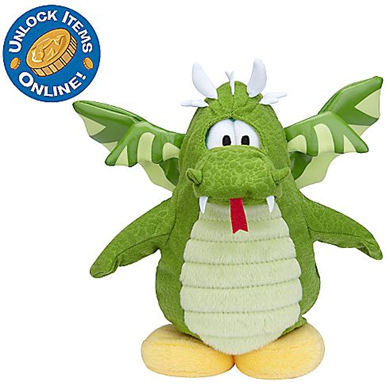Dragon Penguin Plush Toy